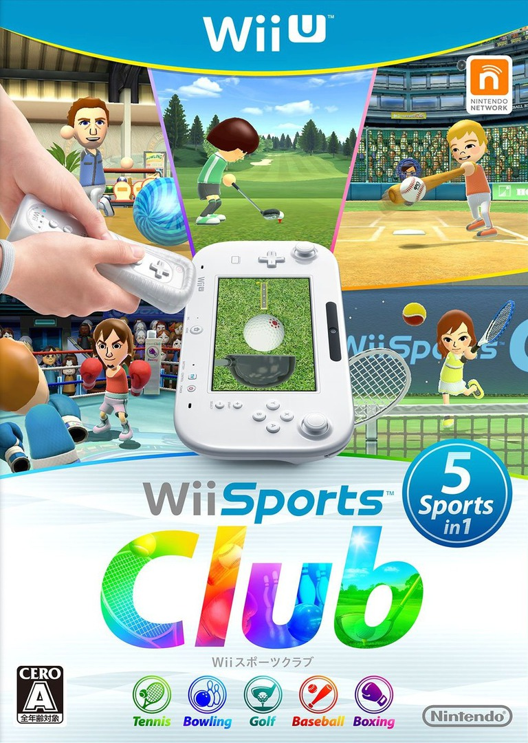Wiiスポーツ クラブ WiiU coverHQ (AWSJ01)