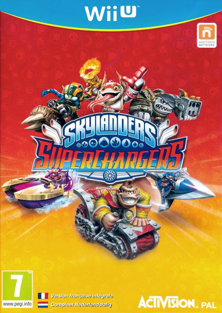 Skylanders: SuperChargers WiiU coverHQ (BS5P52)