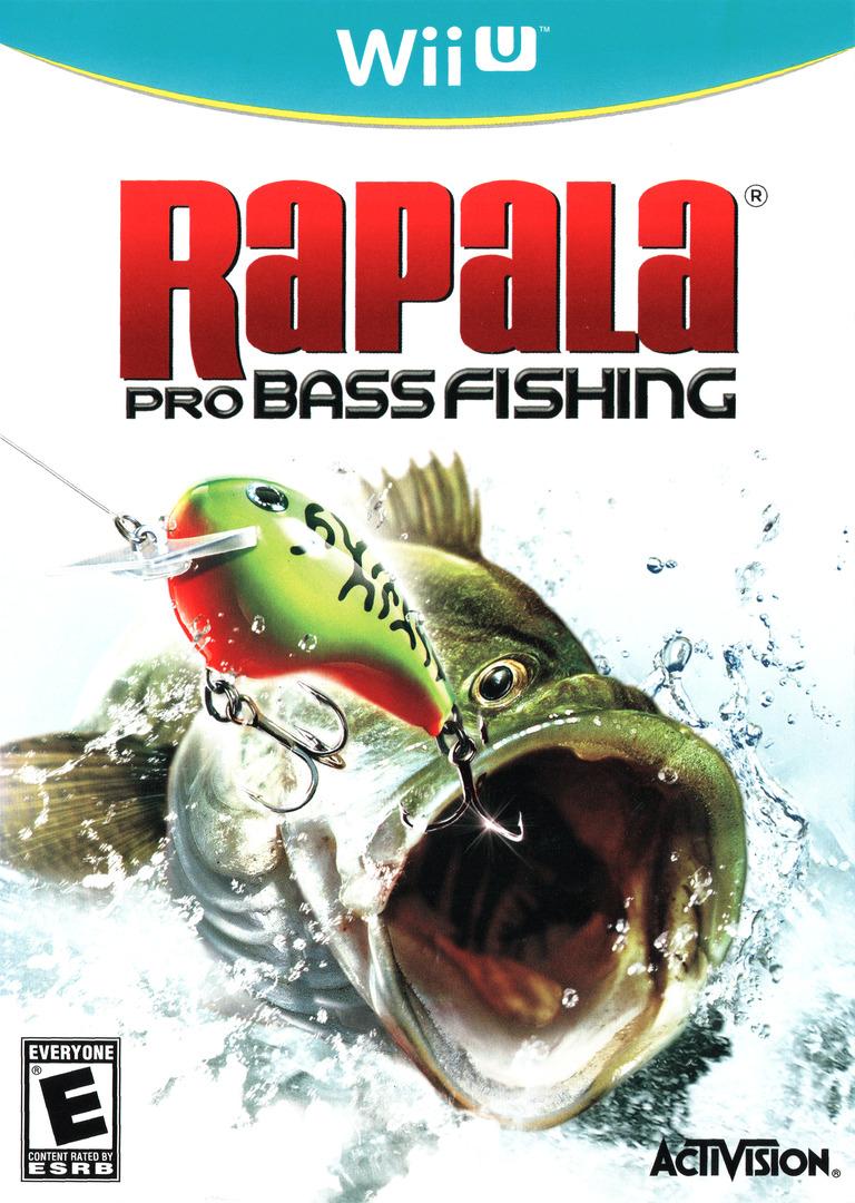 Rapala Pro Bass Fishing WiiU coverHQ (ABFE52)