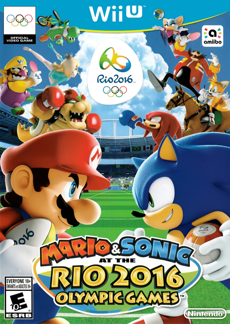 Mario & Sonic at the Rio 2016 Olympic Games Array coverHQ (ABJE01)