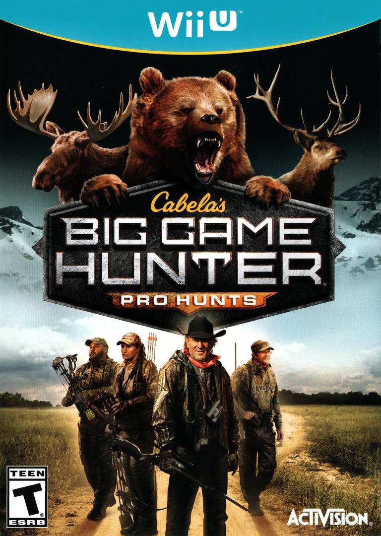 Cabela's Big Game Hunter: Pro Hunts WiiU coverHQ (ACEE52)