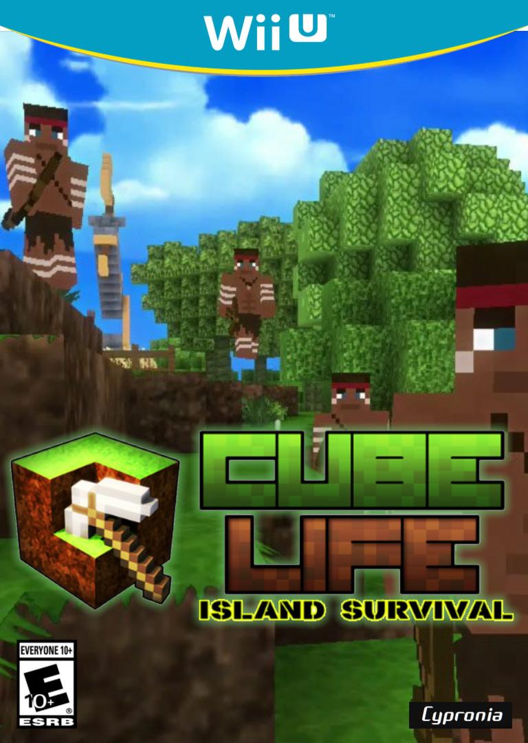 Cube Life Island Survival WiiU coverHQ (ACUE)