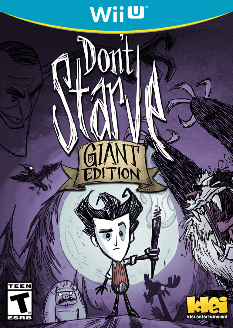 Don't Starve: Giant Edition WiiU coverHQ (ADAE)
