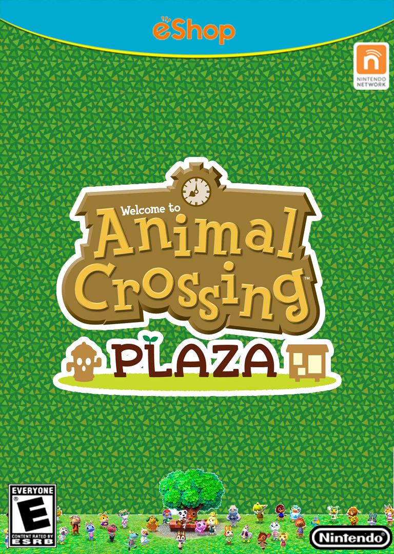 Animal Crossing Plaza Array coverHQ (ADBE)