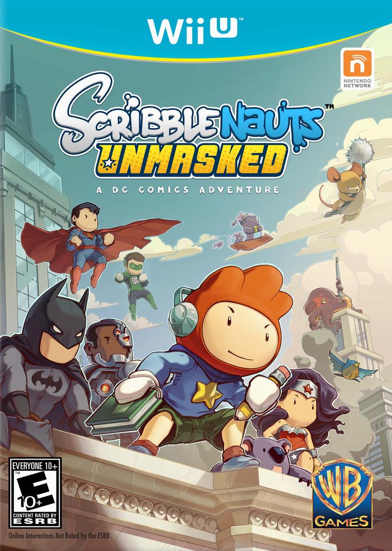Scribblenauts Unmasked:a DC Comics Adventure Array coverHQ (ADCEWR)
