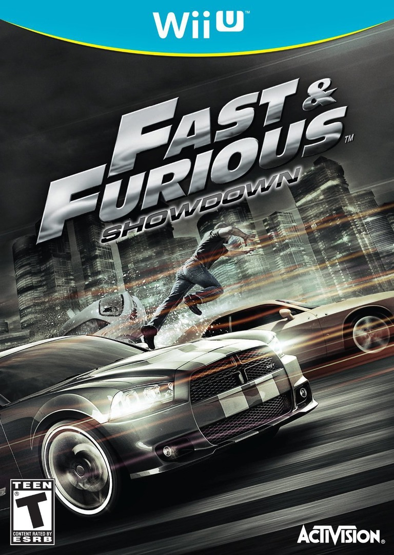 Fast and Furious: Showdown WiiU coverHQ (AF6E52)