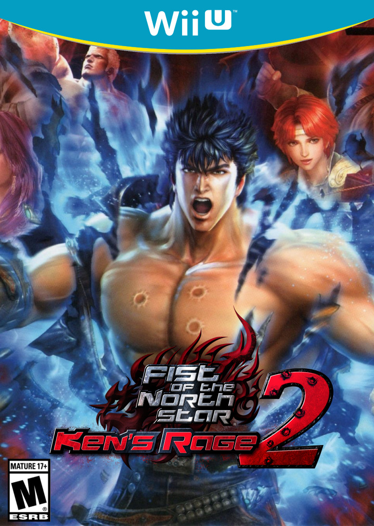 Fist of the North Star: Ken's Rage 2 WiiU coverHQ (AH9E)