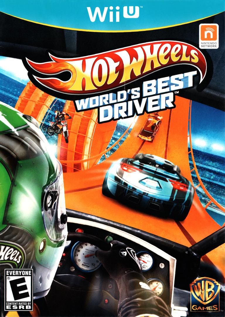 Hot Wheels: World's Best Driver WiiU coverHQ (AHWEWR)