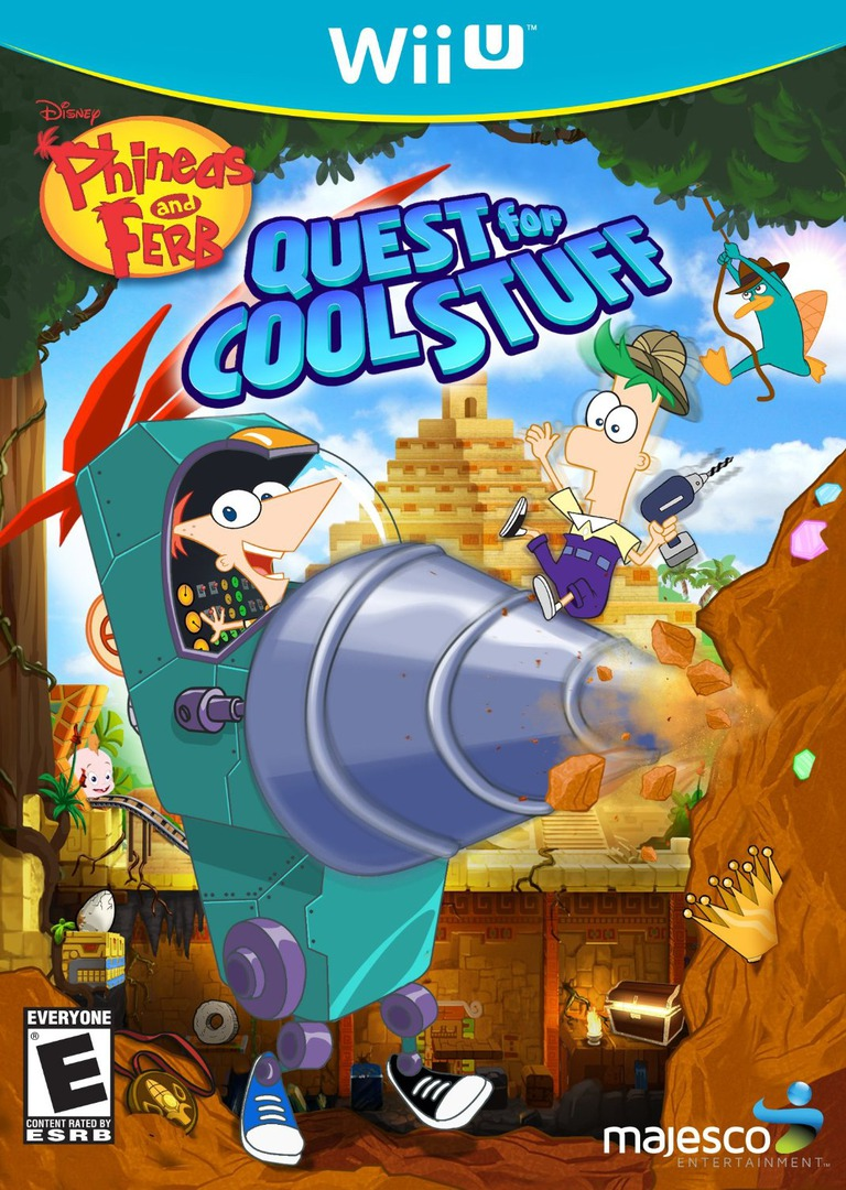 Phineas and Ferb: Quest for Cool Stuff Array coverHQ (APFE5G)