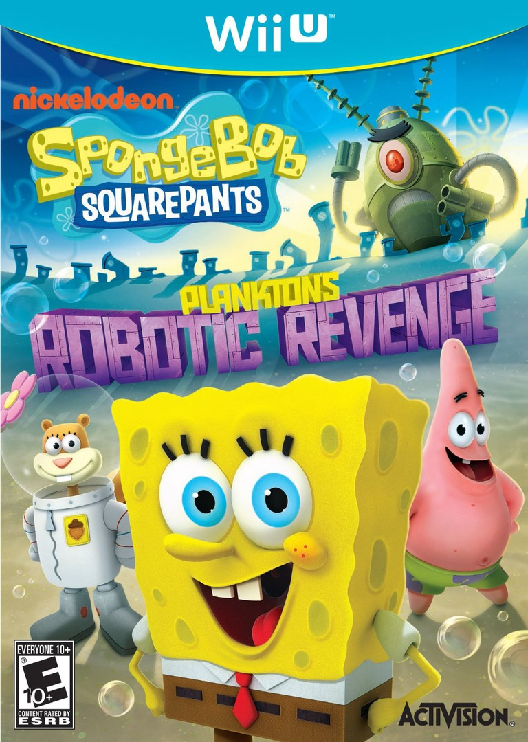 SpongeBob SquarePants: Plankton's Robotic Revenge WiiU coverHQ (AS5E52)