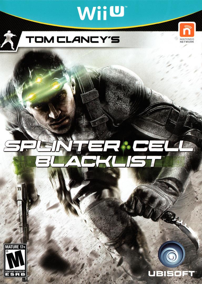Tom Clancy's Splinter Cell Blacklist WiiU coverHQ (AS9E41)