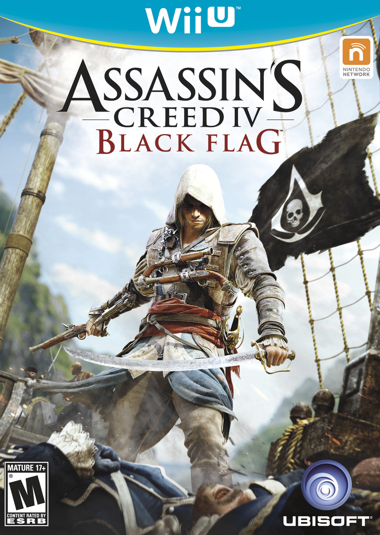 Assassin's Creed IV: Black Flag WiiU coverHQ (ASBE41)