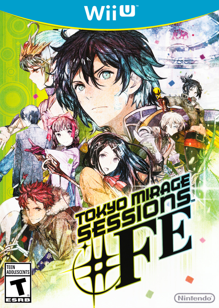 Tokyo Mirage Sessions #FE WiiU coverHQ (ASEE01)