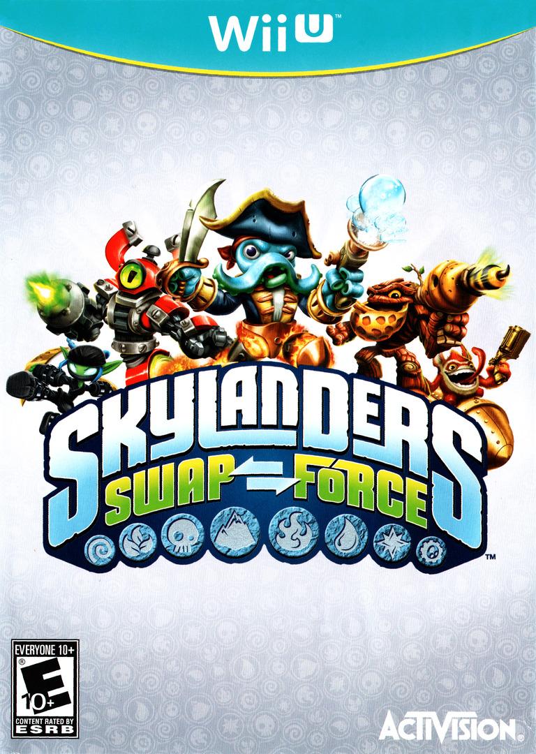 Skylanders: Swap Force WiiU coverHQ (ASFE52)