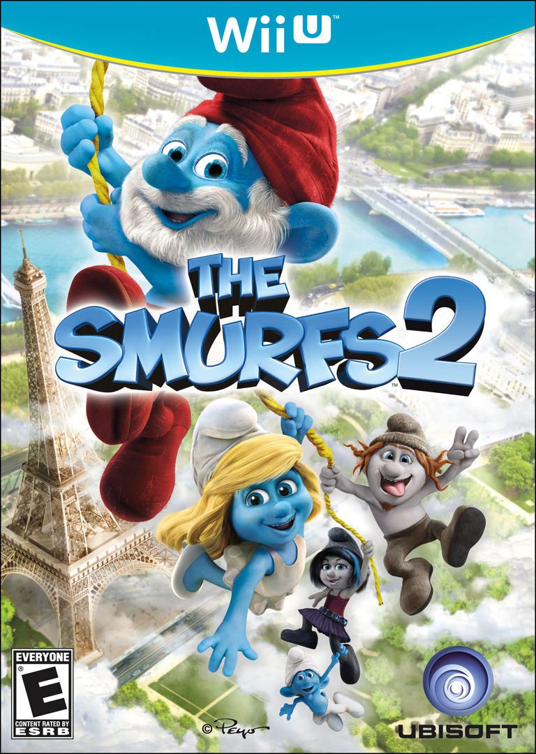 The Smurfs 2 WiiU coverHQ (ASUE41)