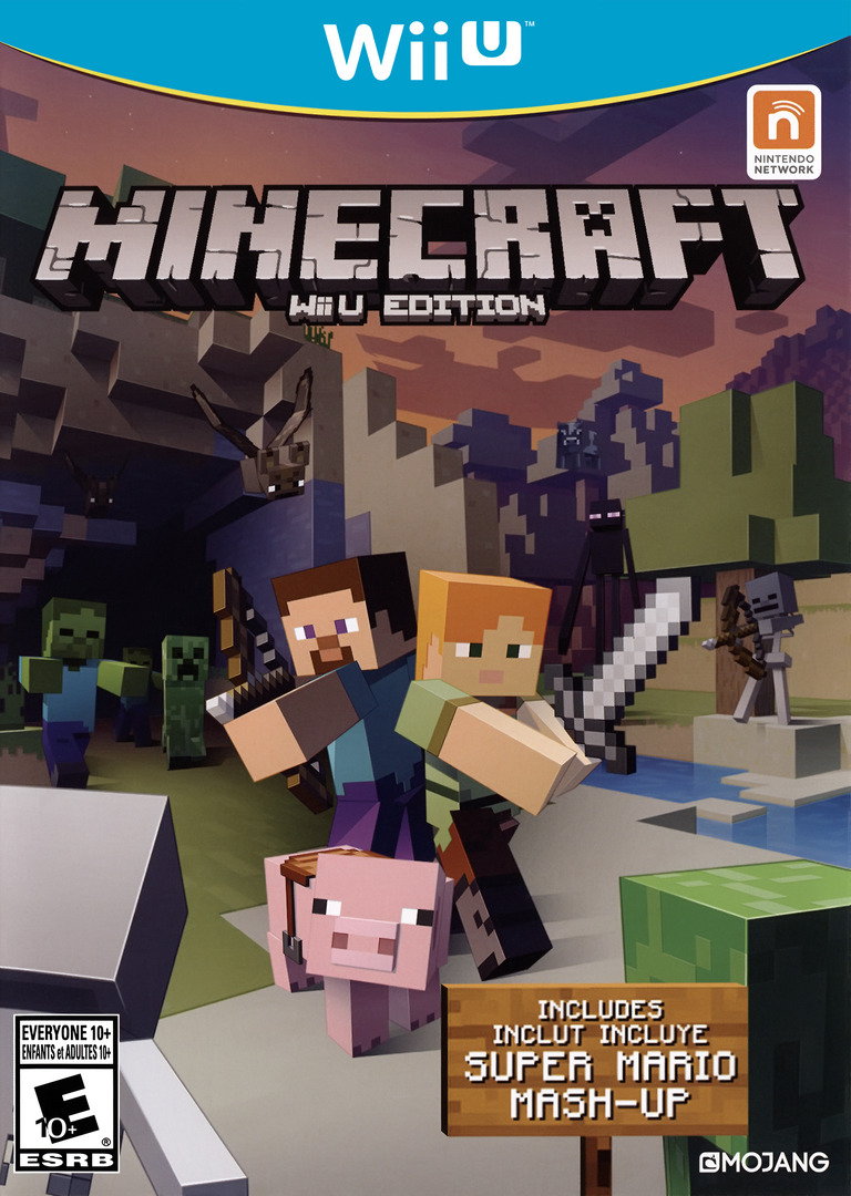 Minecraft: Wii U Edition WiiU coverHQ (AUMEDU)