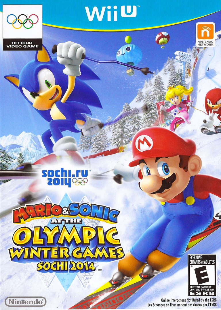 Mario & Sonic at the Sochi 2014 Olympic Winter Games WiiU coverHQ (AURE01)