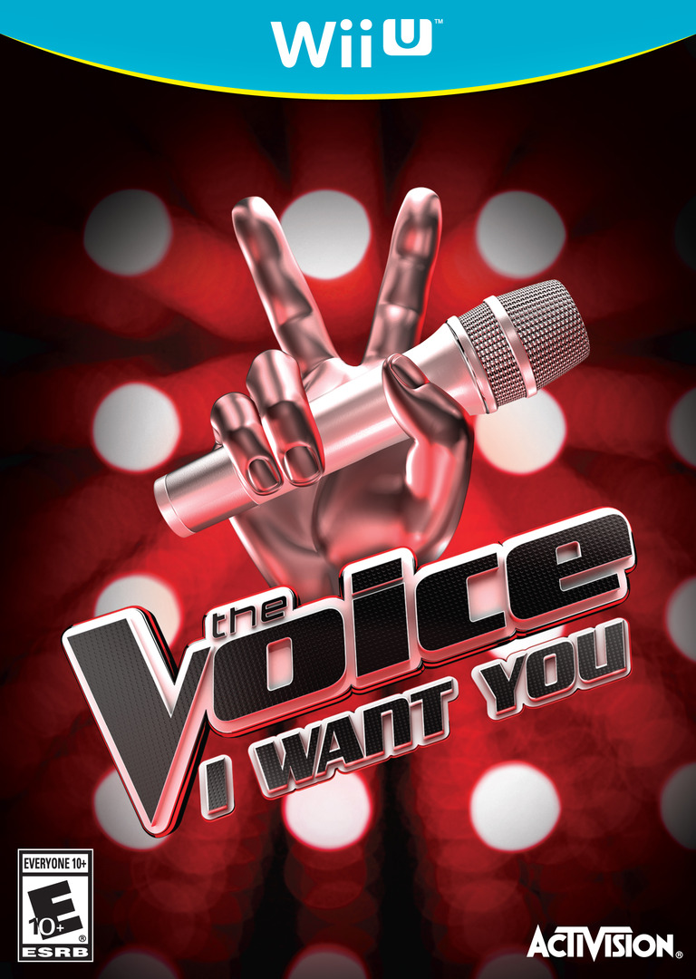 The Voice: I Want You WiiU coverHQ (AVCE52)