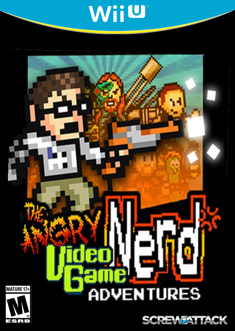 Angry Video Game Nerd Adventures WiiU coverHQ (AVGE)