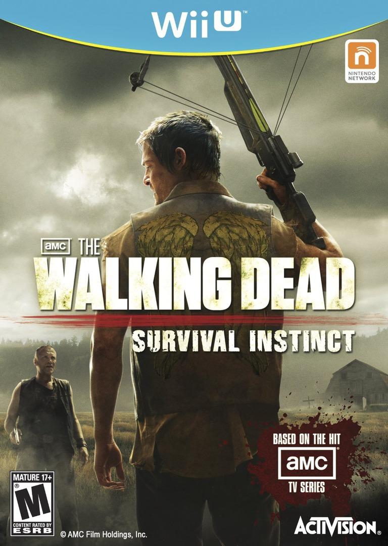 The Walking Dead: Survival Instinct WiiU coverHQ (AWDE52)