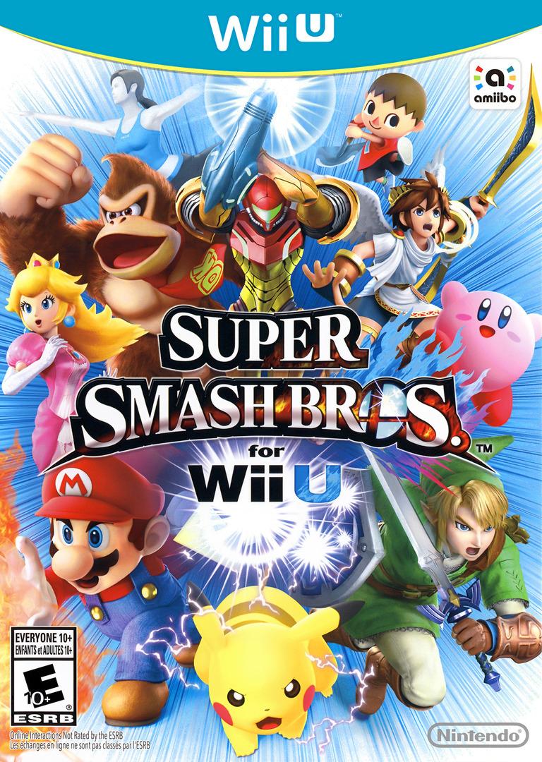 Super Smash Bros. for Wii U WiiU coverHQ (AXFE01)