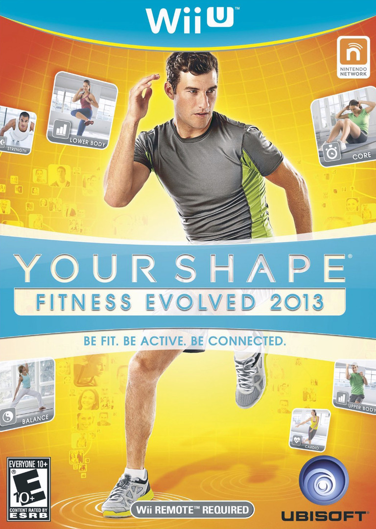 Your Shape: Fitness Evolved 2013 WiiU coverHQ (AYSE41)