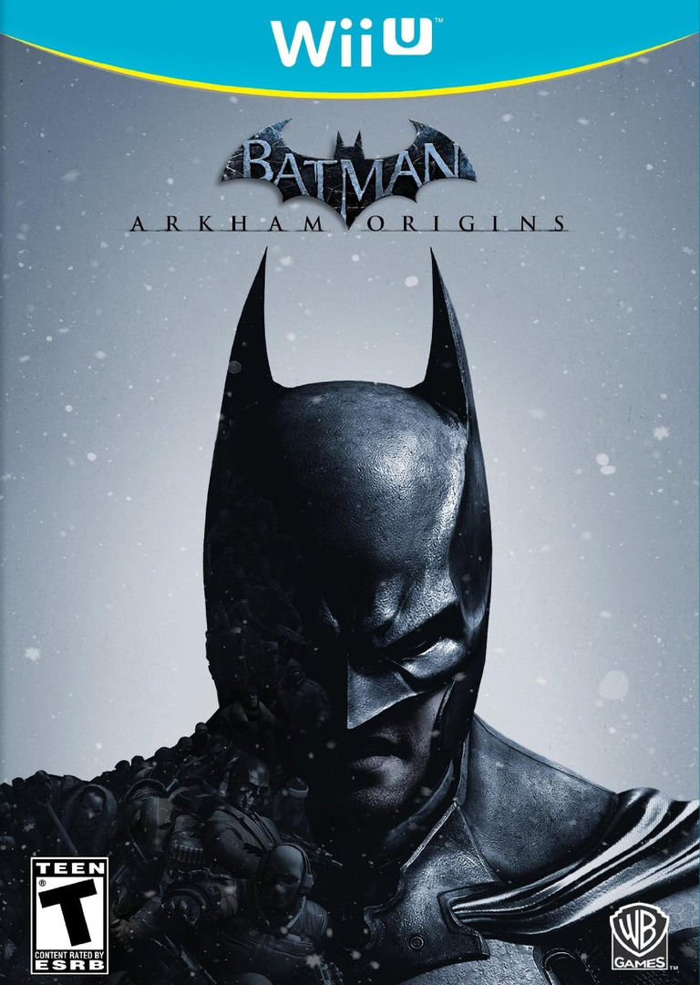 Batman: Arkham Origins Array coverHQ (AZEEWR)