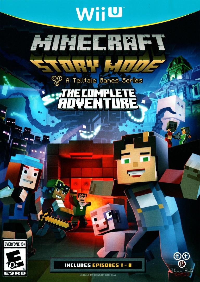 Minecraft: Story Mode - The Complete Adventure WiiU coverHQ (BAKETL)