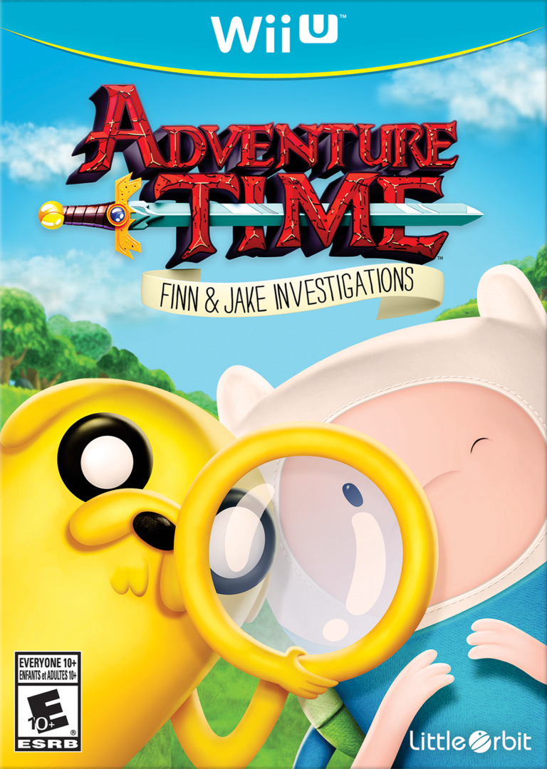 Adventure Time: Finn & Jake Investigations WiiU coverHQ (BFNEVZ)