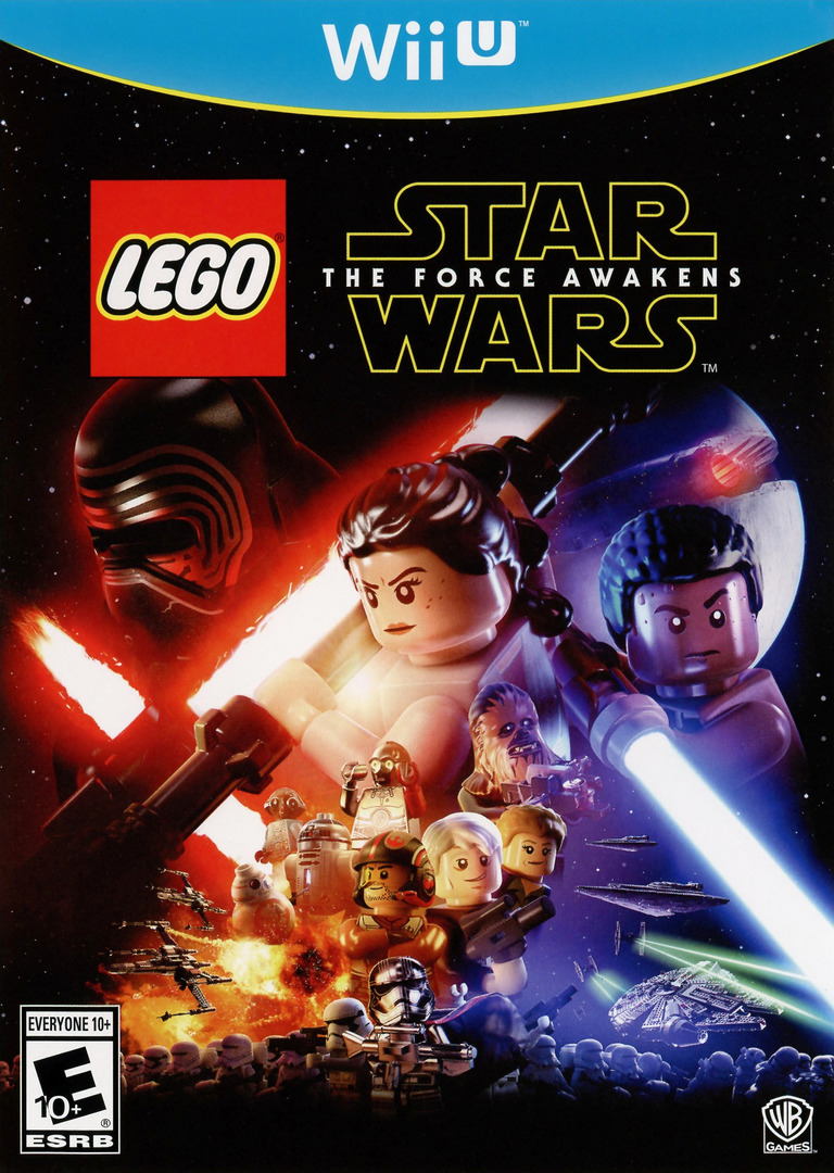 LEGO Star Wars: The Force Awakens Array coverHQ (BLGEWR)