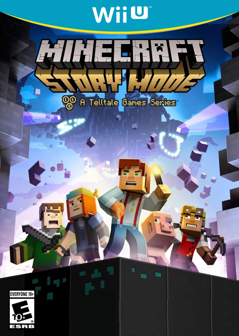 Minecraft: Story Mode - Episode 1: The Order of the Stone WiiU coverHQ (BMTE)