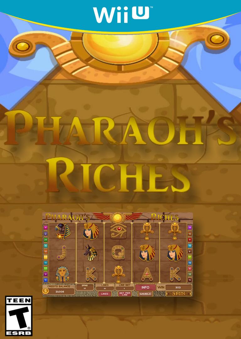 Slots - Pharaoh's Riches WiiU coverHQ (BP3E)