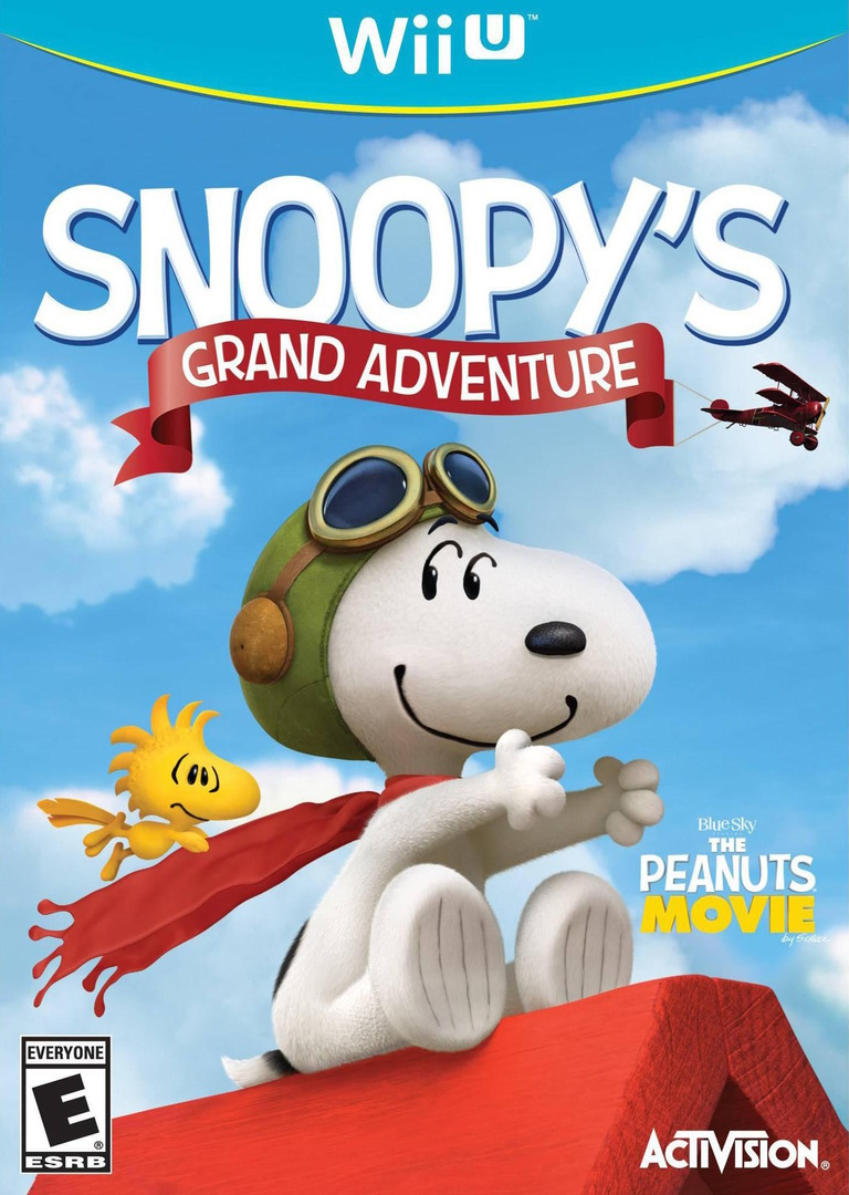 The Peanuts Movie: Snoopy's Grand Adventure Array coverHQ (BPEE52)