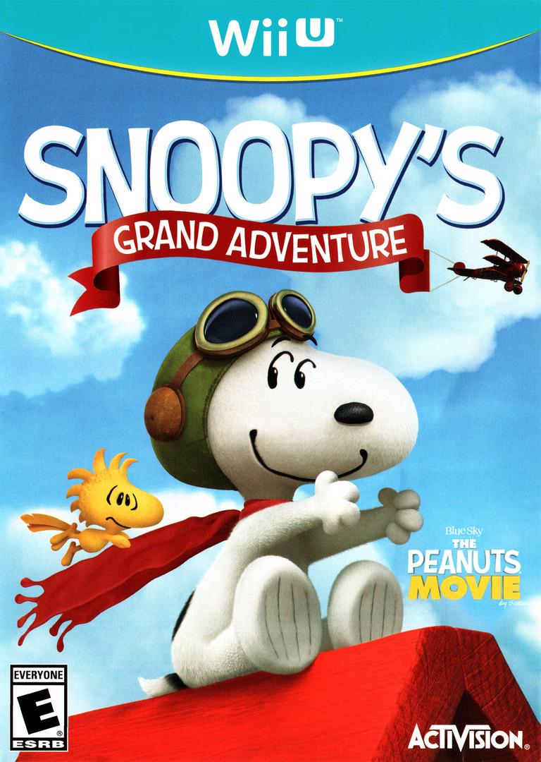 The Peanuts Movie: Snoopy's Grand Adventure WiiU coverHQ (BPEE52)