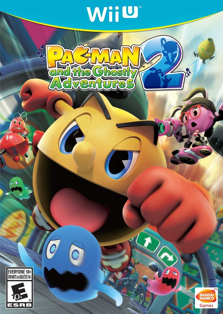 Pac-Man and the Ghostly Adventures 2 WiiU coverHQ (BPMEAF)