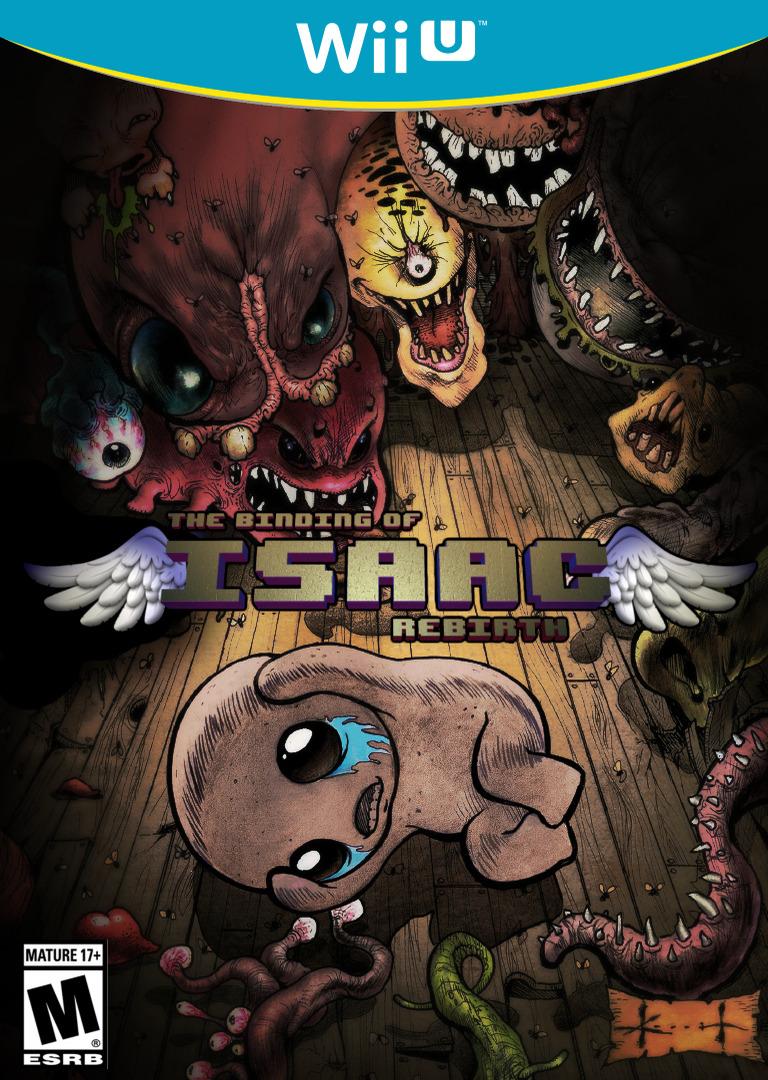 The Binding of Isaac: Rebirth WiiU coverHQ (BRXE)