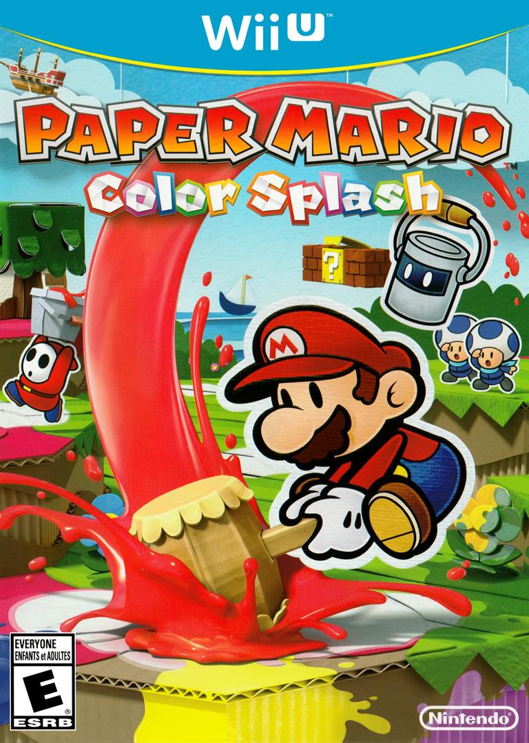 Paper Mario: Color Splash WiiU coverHQ (CNFE01)