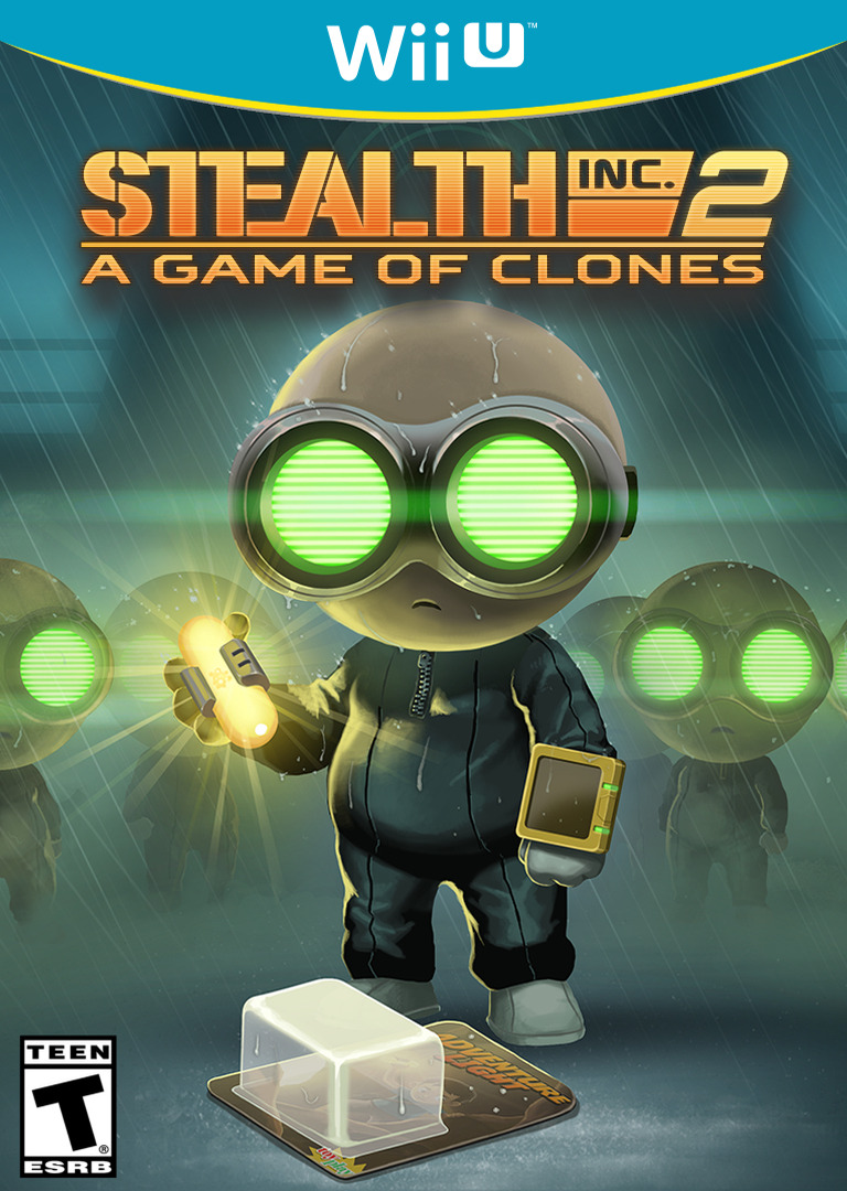 Stealth Inc 2: A Game of Clones WiiU coverHQ (WCGE)