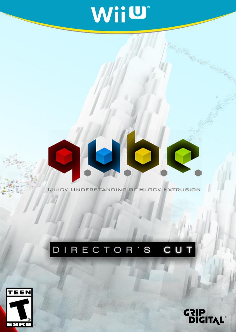 Q.U.B.E: Director's Cut WiiU coverHQ (WDCE)