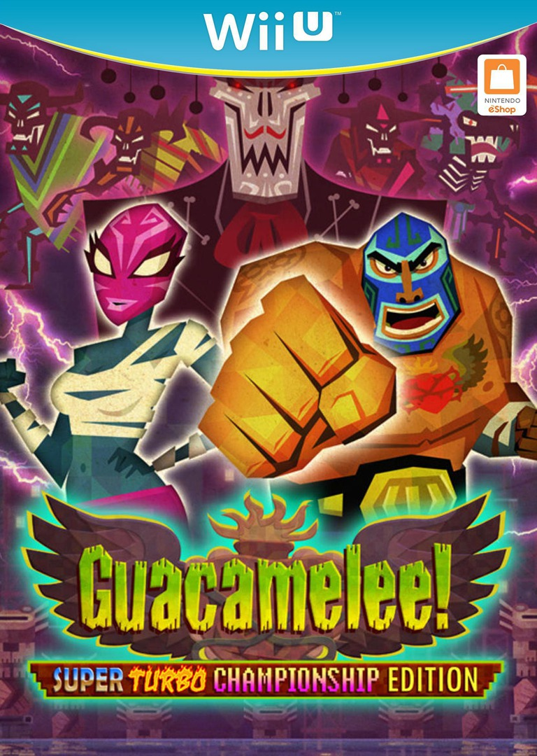 Guacamelee! Super Turbo Championship Edition WiiU coverHQ (WGCE)