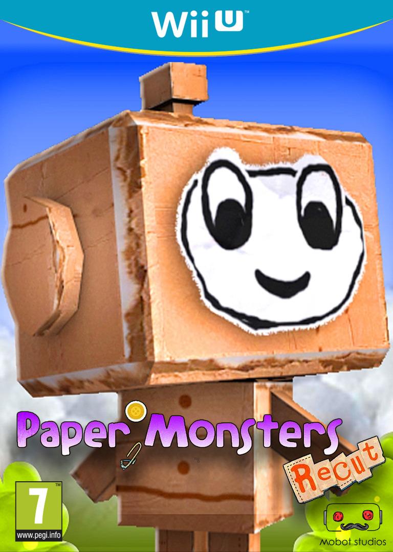 Paper Monsters Recut Array coverHQ (WM3E)