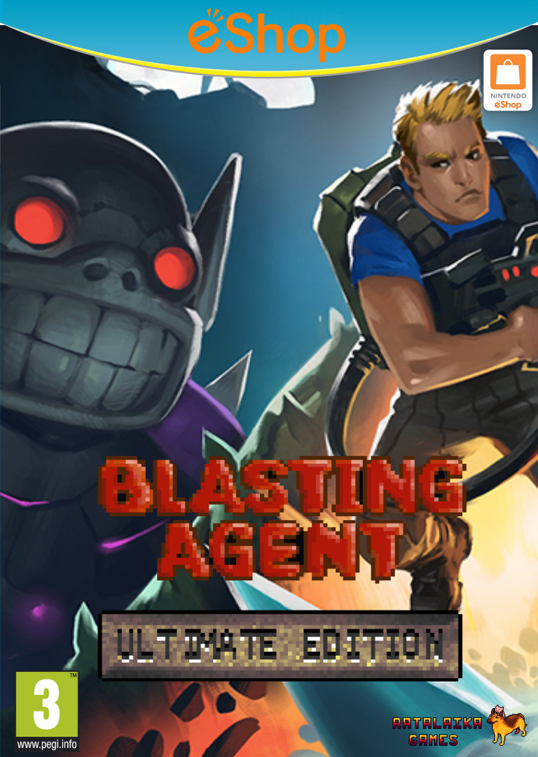 Blasting Agent: Ultimate Edition WiiU coverHQ2 (ABZP)