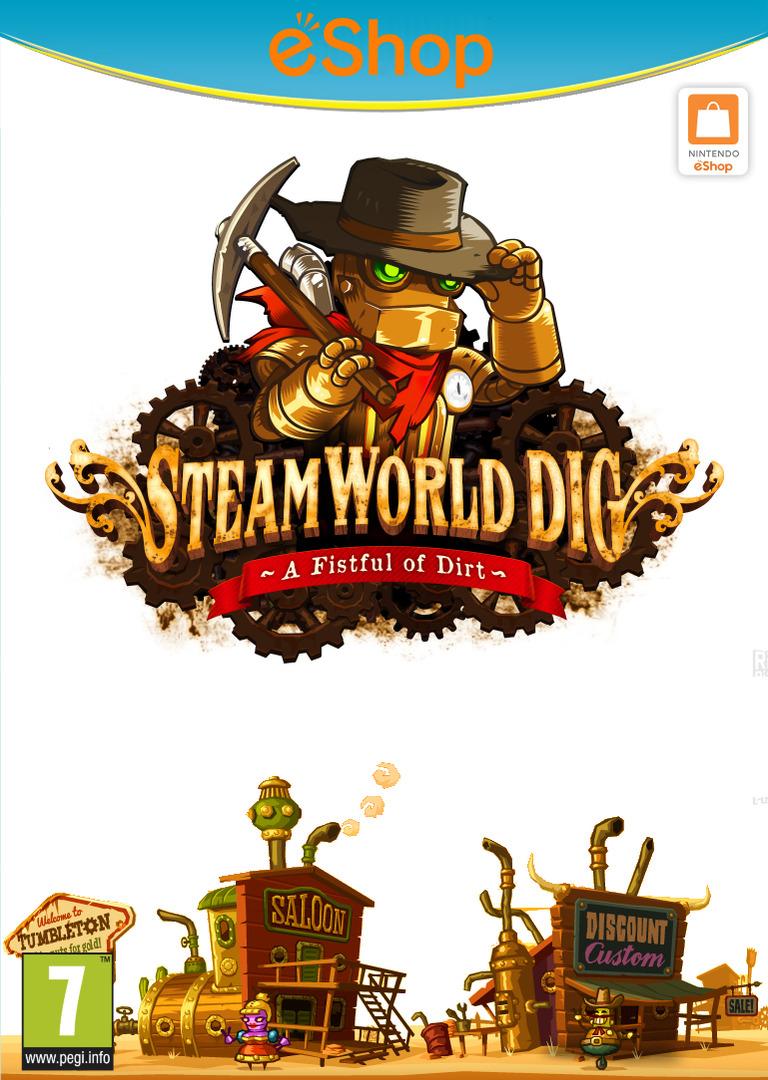 SteamWorld Dig WiiU coverHQ2 (ADGP)