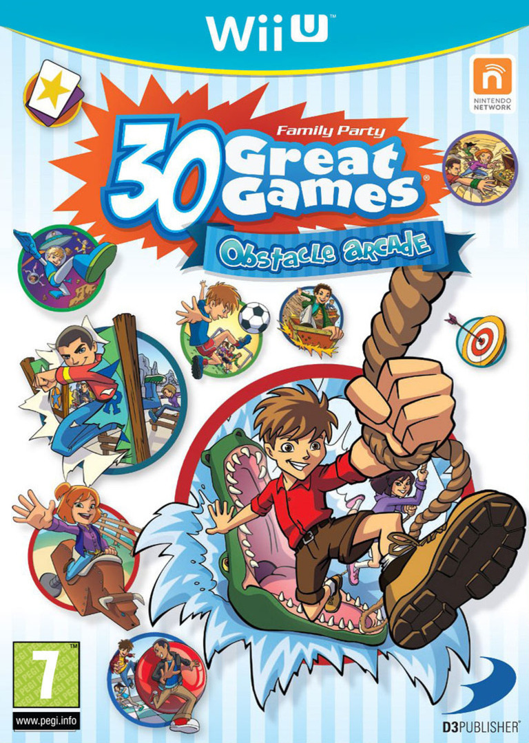 Family Party: 30 Great Games Obstacle Arcade WiiU coverHQ2 (AFPPAF)