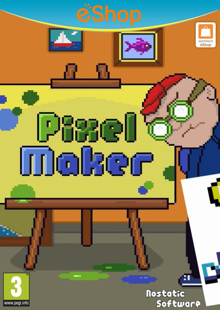 PixelMaker WiiU coverHQ2 (AHYP)