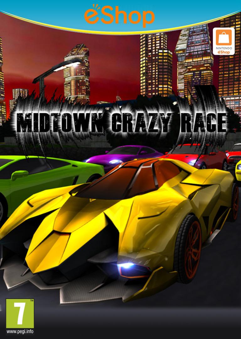 Midtown Crazy Race WiiU coverHQ2 (BCRP)