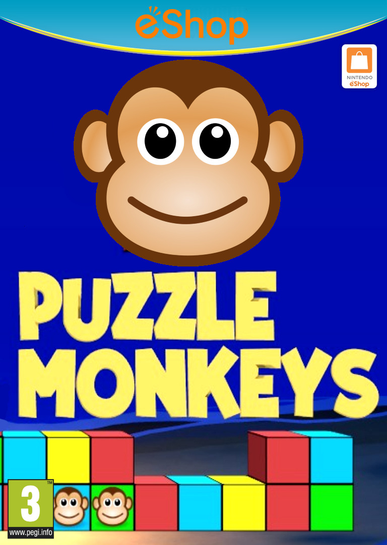 Puzzle Monkeys WiiU coverHQ2 (BPZP)