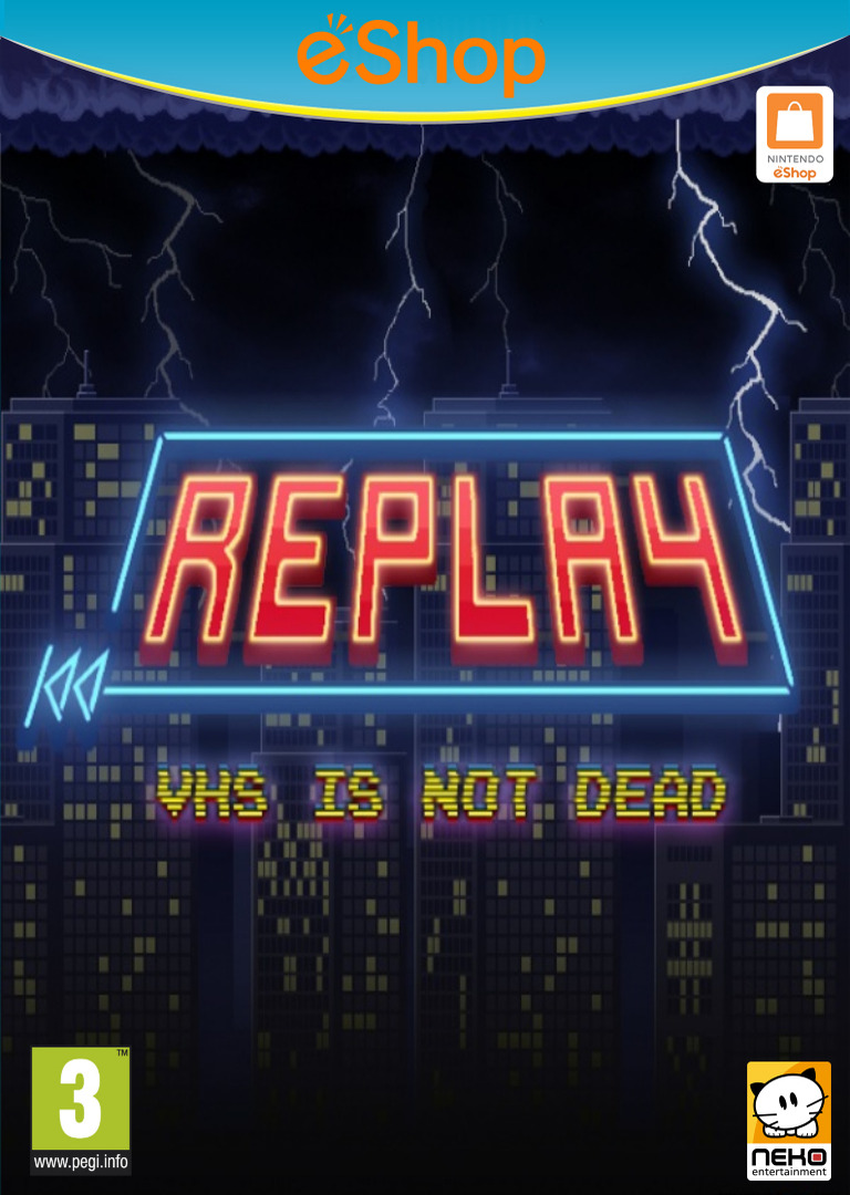 REPLAY : VHS is not dead WiiU coverHQ2 (BREP)