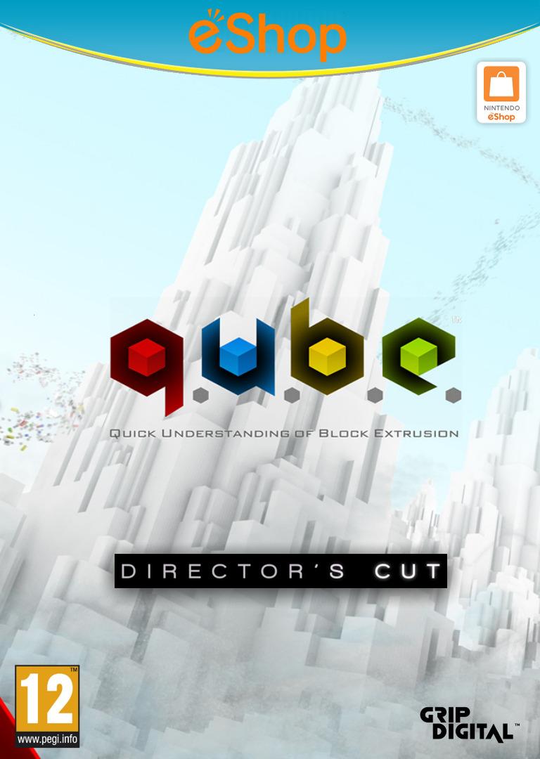 Q.U.B.E: Director's Cut WiiU coverHQ2 (WDCP)