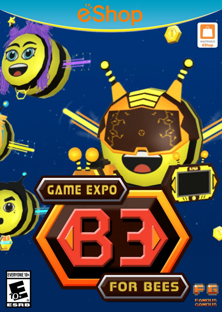 B3 Game Expo For Bees WiiU coverHQ2 (AB3E)
